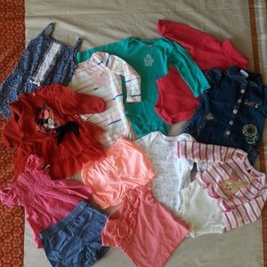 12M Baby Girl's Bundle Clothes